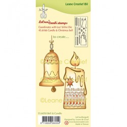 (55.6050)Clear Stamp Bell & Candle
