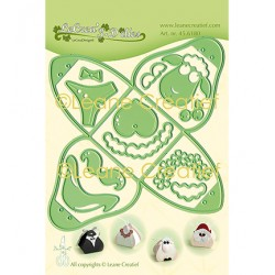 (45.6180)Lea'bilitie Cutting/Embossing Patch die Small box