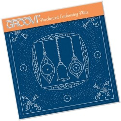 (GRO-CH-41296-03)Groovi Plate A5 TINA'S EMBROIDERY BAUBLES