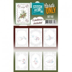 (COSTDOA610002)Cards Only Stitch A6 - 004