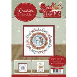 (CB10006)Creative Embroidery 6 - Yvonne Creations - Sweet Christmas