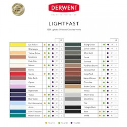 (2302720)Derwent Lightfast (24) Tin