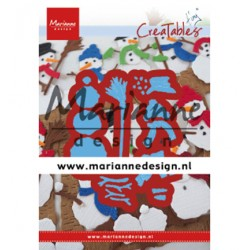 (LR0631)Creatables Tiny's Frosty snowmen