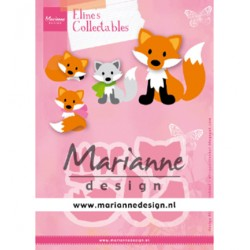 (COL1474)Collectables Eline's Cute Fox