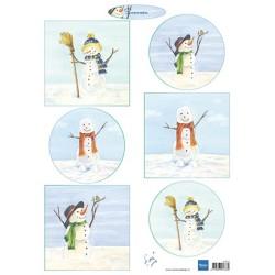(IT613)3D - Tiny's Snowmen