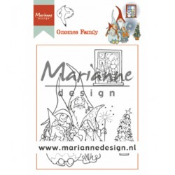 (HT1650)Clear stamp Hetty's Gnomes Family