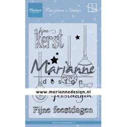 (MZ1906)Clear stamp Marjoleine's Kerstballen