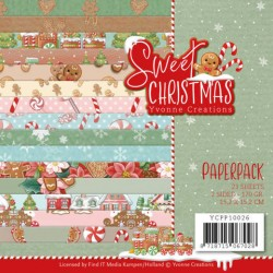 (YCPP10026)Paperpack - Yvonne Creations - Sweet Christmas