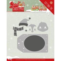 (YCD10179)Dies - Yvonne Creations - Sweet Christmas - Sweet Christmas Penguin