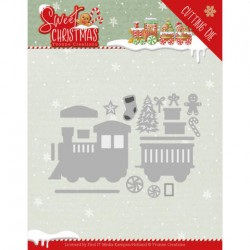(YCD10181)Dies - Yvonne Creations - Sweet Christmas - Sweet Christmas Train