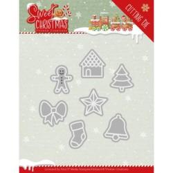 (YCD10182)Dies - Yvonne Creations - Sweet Christmas - Sweet Christmas Cookies
