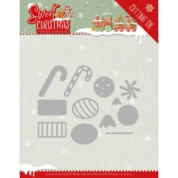 (YCD10183)Dies - Yvonne Creations - Sweet Christmas - Sweet Christmas Candy