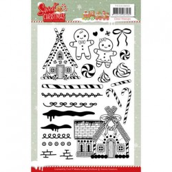 (YCCS10053)Clear Stamps - Yvonne Creations - Sweet Christmas