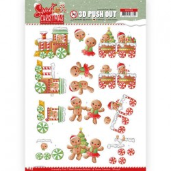 (SB10396)3D Pushout - Yvonne Creations - Sweet Christmas - Sweet Cookies
