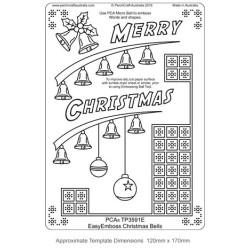 (TP3591E)PCA® - EasyEmboss Christmas Bells