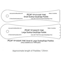 (TP100004F)PCA® - FINE Small & Large ScallopEdge Paddles