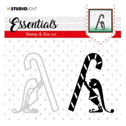 (BASICSDC33)Studio light Stamp & Die Cut Essentials Christmas Silhouettes nr.33