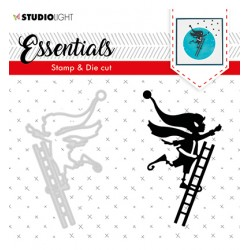(BASICSDC35)Studio light Stamp & Die Cut Essentials Christmas Silhouettes nr.35