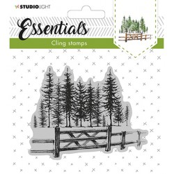 (CLINGSL11)StudioLight Cling Stamp Essentials Christmas nr.11