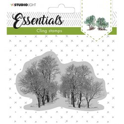 (CLINGSL13)StudioLight Cling Stamp Essentials Christmas nr.13