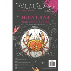 (PI045)Pink Ink Desings Holy Crab