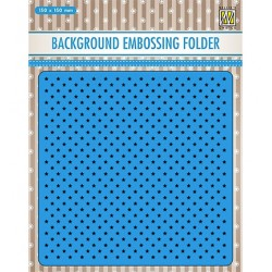 (EEB024)Nellie`s Choice Emb.folder Background Little stars