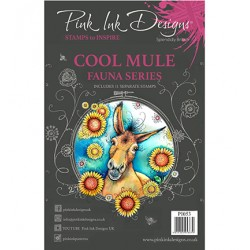 (PI053)Pink Ink Desings Cool Mule