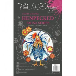 (PI054)Pink Ink Desings Henpecked