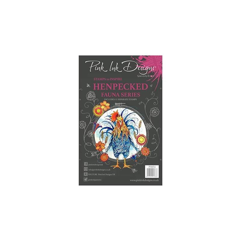(PI054)Pink Ink Desings Henpecked