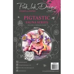 (PI055)Pink Ink Desings Pigtastic