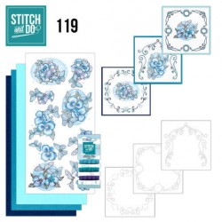 (STDO119)Stitch and Do 119 Christmas Baubles