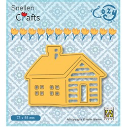 (SCCOD009)Snellen Crafts Cozy dies: Log Cabin