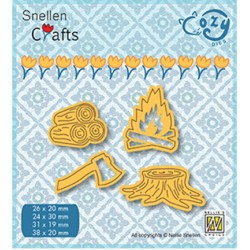 (SCCOD010)Snellen Crafts Cozy dies: Fire