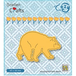 (SCCOD012)Snellen Crafts Cozy dies: Bear
