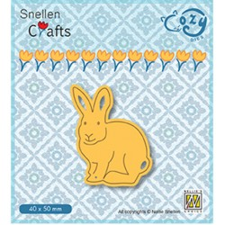 (SCCOD014)Snellen Crafts Cozy dies: Rabbit