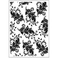 Embossing folder leaves (CTFD 3060)
