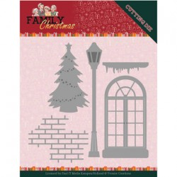 (YCD10185)Dies - Yvonne Creations - Family Christmas - Christmas Window