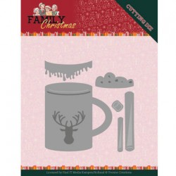 (YCD10186)Dies - Yvonne Creations - Family Christmas - Hot Drink