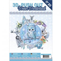 (3DPO10020)3D Pushout Book 20 Winter Wonderland