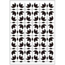 Embossing folder folk ornaments (CTFD 3056)