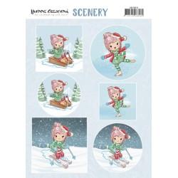 (CDS10014)Scenery - Yvonne Creations Lola - Winter