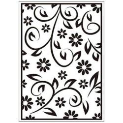 Embossing folder floral summer (CTFD 3054)