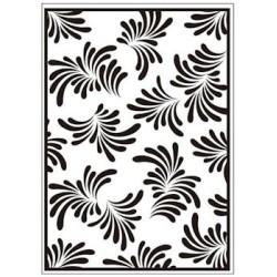 Embossing folder petals (CTFD 3053)