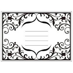 (CTFD 3052)Embossing folder invitation