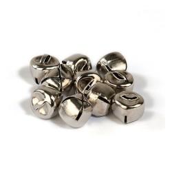 (12239-3902) Bells silver 10mm 12pcs