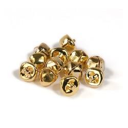 (12239-3912) Bells gold 10mm 12pcs
