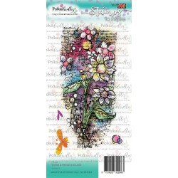 (PD7928)Polkadoodles Wings & Things Collage Clear Stamps