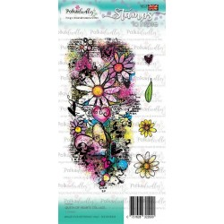 (PD7929)Polkadoodles Queen of Hearts Collage Clear Stamps