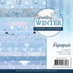 (YCPP10029)Paperpack - Yvonne Creations - Sparkling Winter