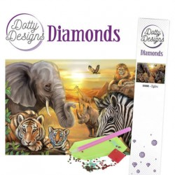 (DDD10001)Dotty Designs Diamonds - Safari